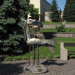 Зарасайский перитий-перитон. Металлическая скульптура