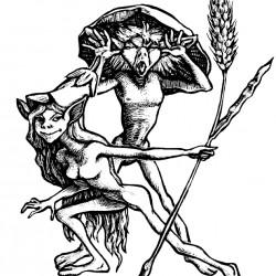 Пикси. Иллюстрация Мерли Инсинга