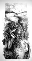 Полевик. Рисунок Людмилы Стойлик (Stojlik)