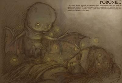 Poroniec (Поронец). Иллюстрация Павла Зыха (Paweł Zych)