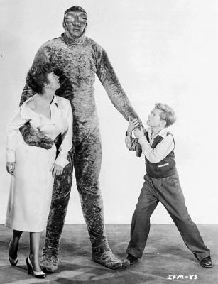 "Рекламное фото к фильму ""Захватчики с Марса"" (Invaders from Mars, 1953)"