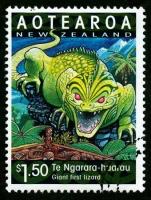 Те Нгарара Хуарау на новозеландской марке