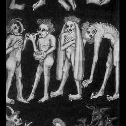 """Чудовищные племена. Иллюстрация к """"О вселенной"""" Рабана Мавра"""