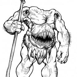 Anthropophagi. Рисунок Ракаэля Майо