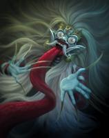 Рангда, королева леяков. Иллюстрация Агунга Вуландана