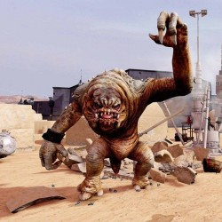 Ранкор. Скриншот из игры Kinect Star Wars (2012)