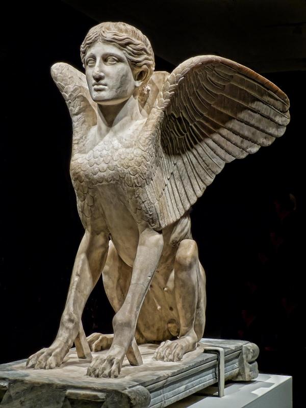 Сфинкс. Римская статуя