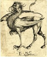 Парнокопытный грифон от Исраэля фон Мекенема