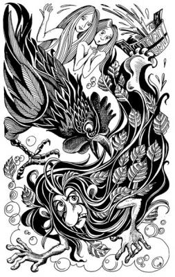 Банник. Рисунок Ольги Анциферовой