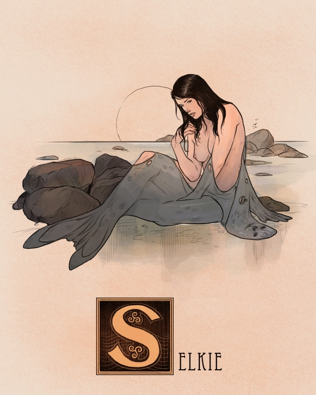 "Шелки. Иллюстрация Натана Андерсона (Nathan J. Anderson, ""Deimos-Remus"")"