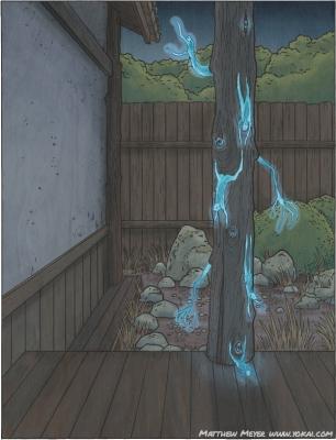 Сакабасира. Иллюстрация Мэтью Мэйера