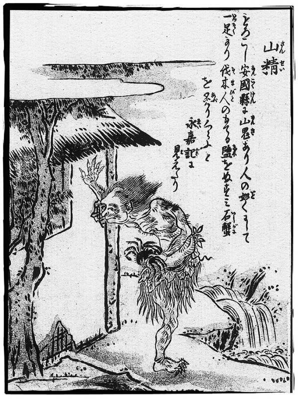 Сансэй. Иллюстрация Ториямы Сэкиэна