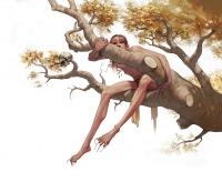 Асанбосам. Иллюстрация Лизи Джон
