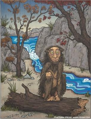 Сатори. Иллюстрация Мэтью Мэйера