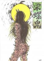 Садзаэ-они. Рисунок Сёта Котакэ