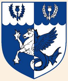 Морской пегас на гербе Брайана Моррисона (Bryan Morrison)