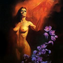 """""""Secrets"""". Картина Бориса Валледжо"""