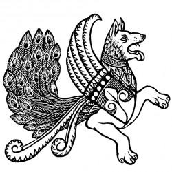 Сенмурв. Иллюстрация Мерли Инсинга