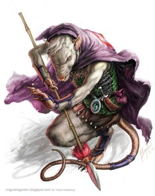 Servant of Lao Shu Po final. Иллюстрация Мигеля Регодона Харкнесса (Miguel Regodón Harkness) к сеттингу Pathfinder