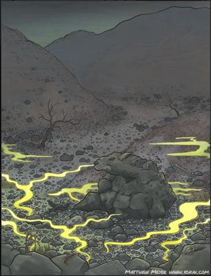 Сэссё-сэки. Иллюстрация Мэтью Мэйера