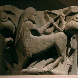 Кентавр-стрелец. Барельеф из Северной Испании. Конец XII века