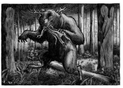 Подорожный шмыг. Иллюстрация Ричарда Свенссона