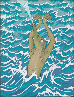 Сихофуки. Иллюстрация Мэтью Мэйера