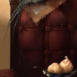 Сэр Куруш. Иллюстрация Андрея Иванченко (Anry)