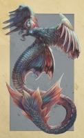 Сирена. Иллюстрация Марии Ворончихиной (Роклаин)