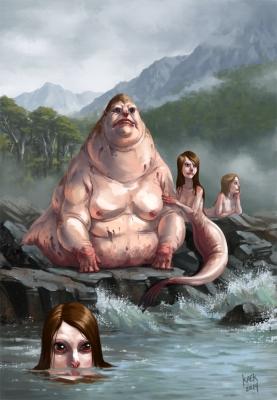 Мильялобо и пинкойи. Иллюстрация Карлоса Эулефи (Kaek)