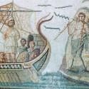 Одиссей и сирены. Романская мозайка