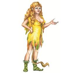 """Скоге-женщина из книги """"Загадочные существа"""""""