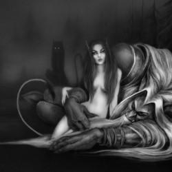 Сон. Рисунок Светланы Север