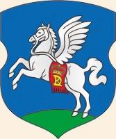 Крылатый конь на гербе города Слуцка (Беларусь)