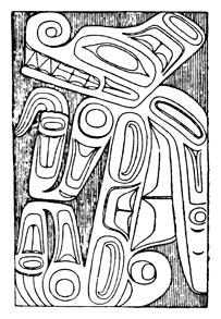Васго. Традиционное индейское изображение