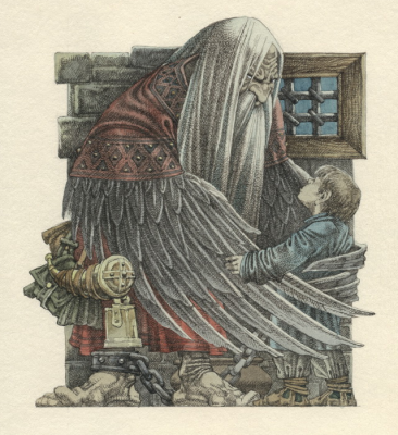 Соловей-разбойник. Иллюстрация Романа Писарева
