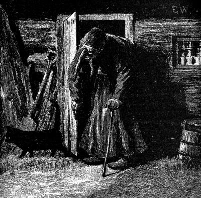 """Иллюстрация Эрика Вереншёлля к сказке """"Замок Сориа-Мориа"""" (Soria Moria slott), 1897"""