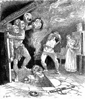 "Иллюстрация Ланселота Спида к сказке ""Замок Сориа-Мориа"" (Soria Moria slott), 1890"
