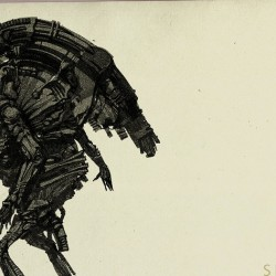 Space Jockey. Art by Leonid Bloommer