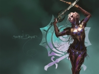 Spectral Dancer. Фан-арт к игре Lineage2