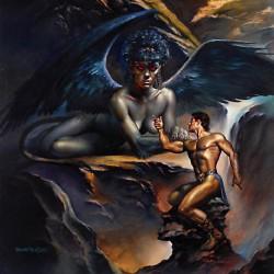 Сфинкс на картине Бориса Валледжо