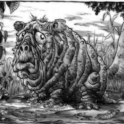 Сквонк. Иллюстрация Ричарда Свенссона