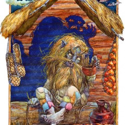 Овинник. Иллюстрация Виктора Королькова