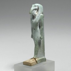 Фаянсовая статуэтка бога Тота