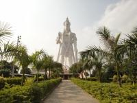 Статуя Ханумана в штате Андхра-Прадеш (Индия)