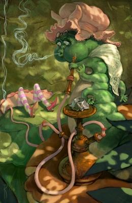 Strong giggle smoke. Иллюстрация Вальдемара Казака