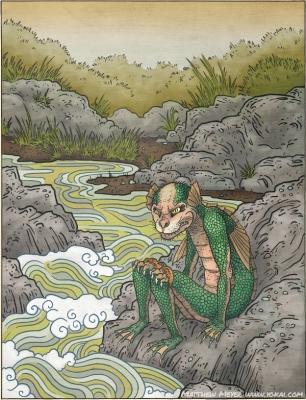 Суйко. Иллюстрация Мэттью Мэйера