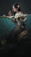 Русалка. Иллюстрация Светланы Костиной