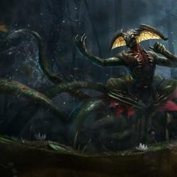 Swamp Elder 2. Иллюстрация Алекса Негриа (Alex Negrea)