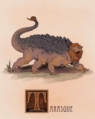 """Тараск. Иллюстрация Натана Андерсона (Nathan J. Anderson, """"Deimos-Remus"""")"""